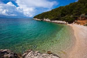 Ostrov Hvar - jižní zátoky