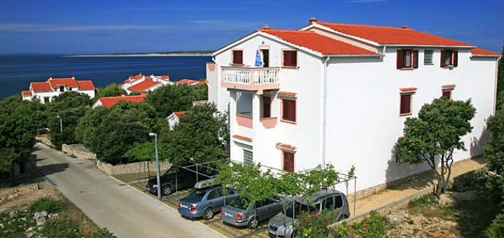 Apartmány Ivica, Mandre, ostrov Pag